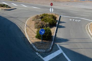 Straßenmakierung