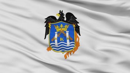 Trujillo City Flag, Country Peru, Closeup View