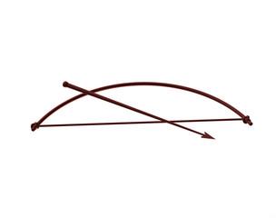 Pfeil und Bogen