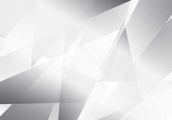 Abstract background  grey and white tech geometric corporate design vector eps 10