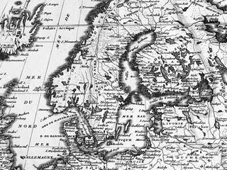 古地図 北ヨーロッパ