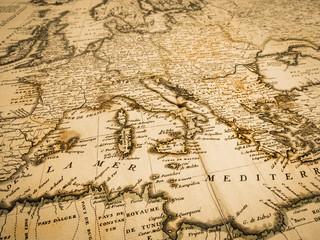 古地図 地中海沿岸地域