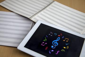 cuadernos de musica
