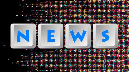 News Keyboard Buttons 008