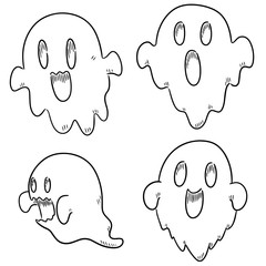 vector set of ghost