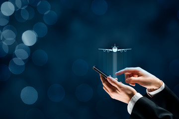 Air ticket booking and travel insurance app