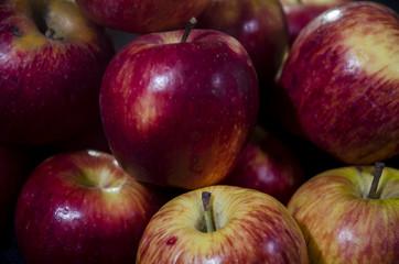 Cantidad de manzanas rojas