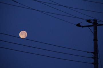 満月の綱渡り