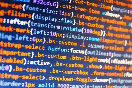 Programing workflow abstract algorithm concept  Mobile app developer