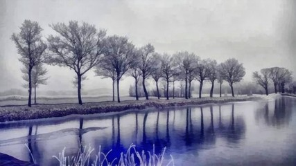 Oil painting. Art print for wall decor. Acrylic artwork. Big size poster. Watercolor drawing. Modern style fine art. Painting for sale. Beautiful landscape. Wonderful winter view. Wild nature.