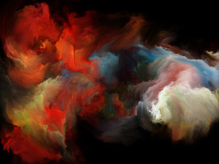 Acceleration of Color Motion