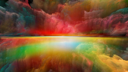 Illusion of Abstract Landscape