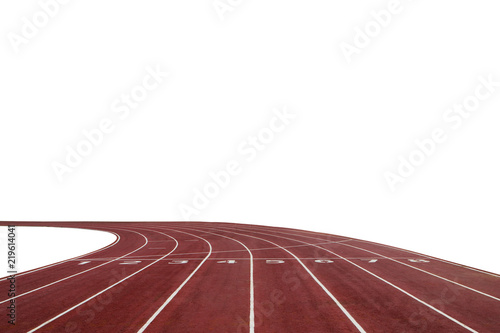 running race track background with white copy space stock photo and