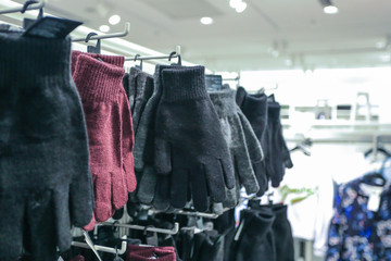 Gloves in the clothing market
