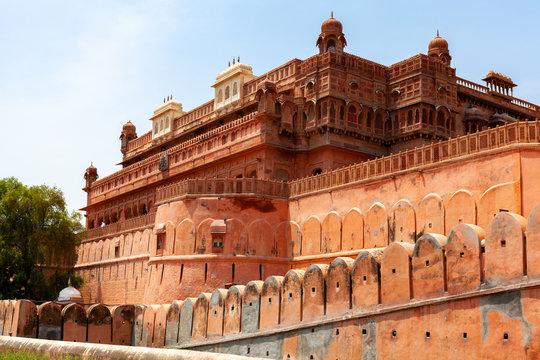 Karan Pole Junagarh Fort, Bikaner, Rajasthan