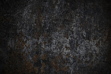 Rust on old metal wall texture background Wall mural