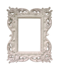 old picture frame close up