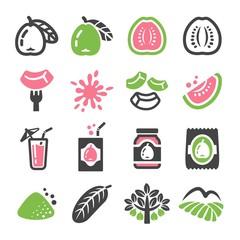 guava icon set