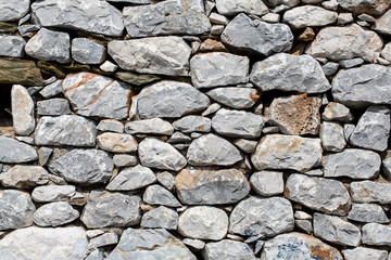Building with stone walls