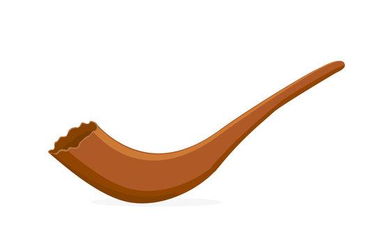 Shofar, musical horn for Jewish religious holidays