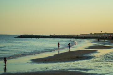 Picture of a beautiful beach in Cavallino-Treporti Venice Italy
