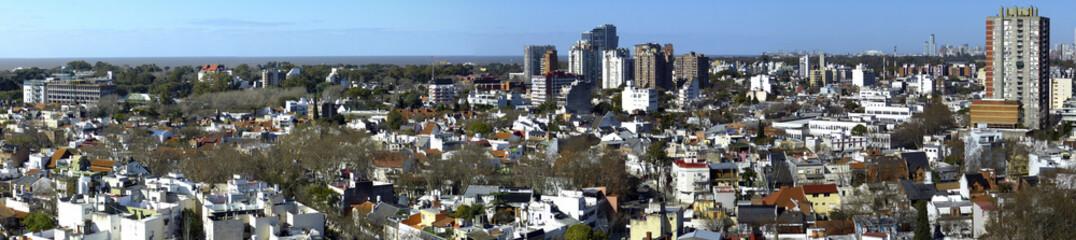 Panorama des Rio de la Plata, Argentinien