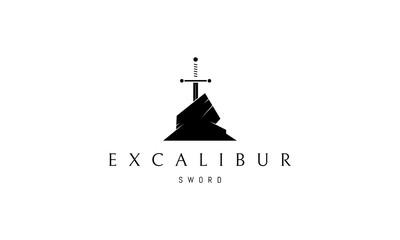 Excalibur vector logo image Fototapete