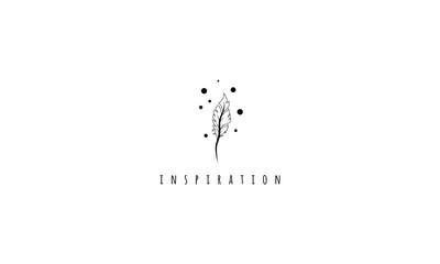 Inspiration Black vector logo image