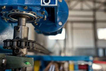 parts and assemblies of the new industrial pipe bending machine