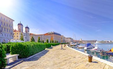 Trieste Italy by Adriatic sea