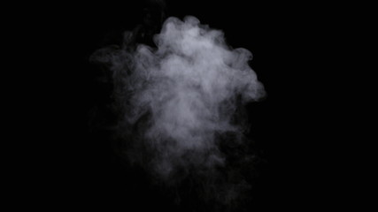 Fotobehang Rook Realistic dry smoke clouds fog overlay perfect for compositing into your shots. Simply drop it in and change its blending mode to screen or add.