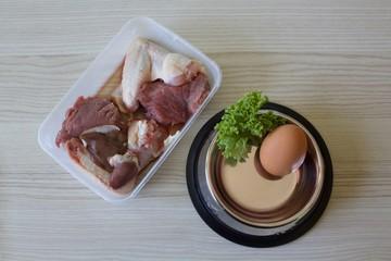 Raw feeding barf diet