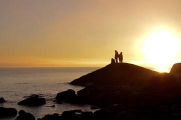 Sunset in Alnö