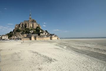 Der Mont Saint Michel in der Normandie