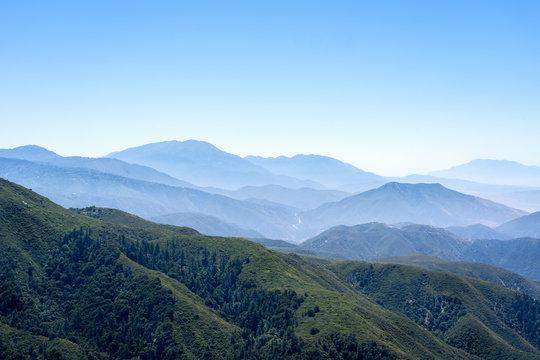 Mountains near Julian, California