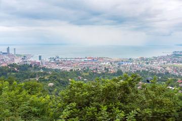 Batumi, Georgia - August 07, 2018: A panoramic view of the city. Batumi.
