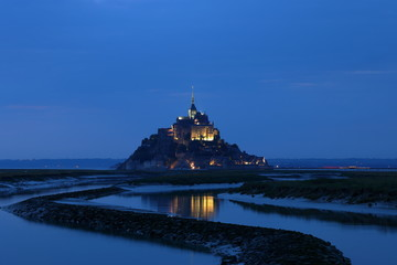Der Mont Saint Michel in der Normandie