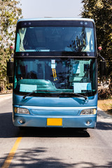 Thai coach on the road