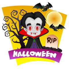 halloween vampire dracula theme