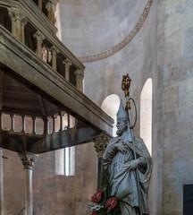 Details of Cattedrale di San Lorenzo in Trogir, Croatia