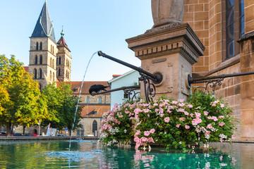 historic town esslingen germany on the neckar river Fototapete