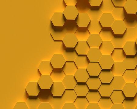 abstract  bee hive background random bee hive , hextagon background