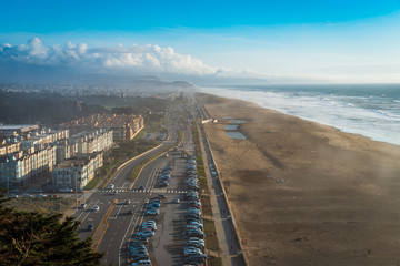 Great Highway, Ocean Beach, San Francisco