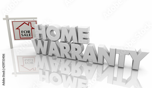 """""""Home Warranty Guarantee Insurance Policy Sign 3d ..."""