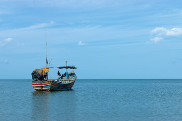 Minimal of Fishing boat