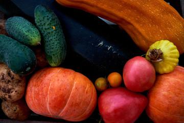 Assortment of fresh vegetables. Healthy Lifestyle,. Vegetarian food.