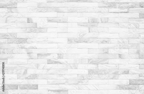 Grey and white brick wall texture background  Brickwork or