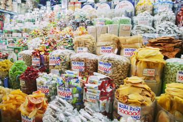 Snacks at a Vietnamese market