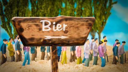 Schild 365 - Bier
