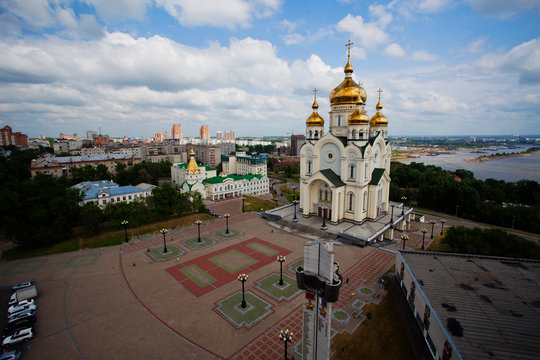 August, 2011 - Khabarovsk, Khabarovsk Territory - Savior Transfiguration Cathedral